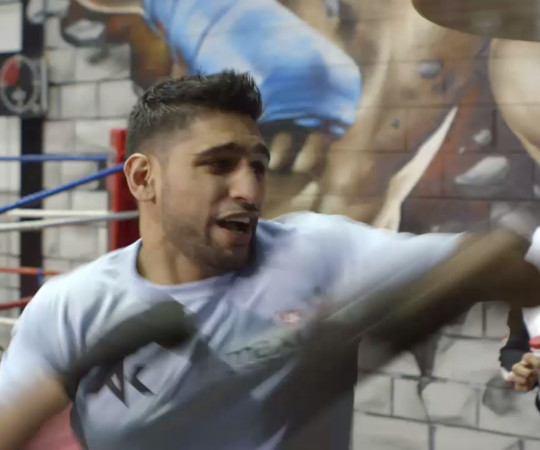 Amir Khan Party Trick